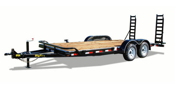 10ET Big Tex Auto/Motorcyle Trailer