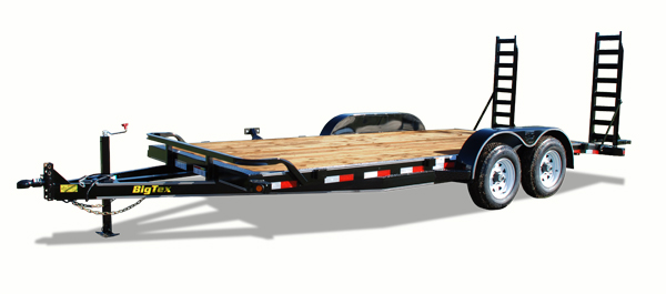 10ET Big Tex Equipment Trailer
