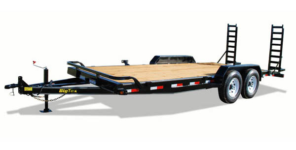 12ET Big Tex Auto/Motorcyle Trailer