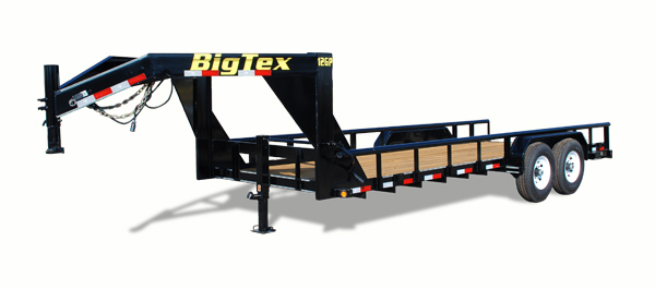 12GP Big Tex Equipment Trailer