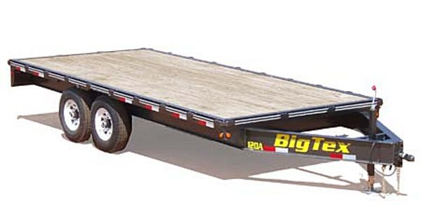 12OA Big Tex Equipment Trailer