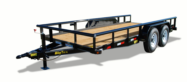 12PI Big Tex Equipment Trailer