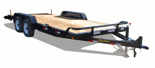 14CC Big Tex Equipment Trailer