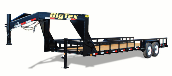 14GP Big Tex Equipment Trailer