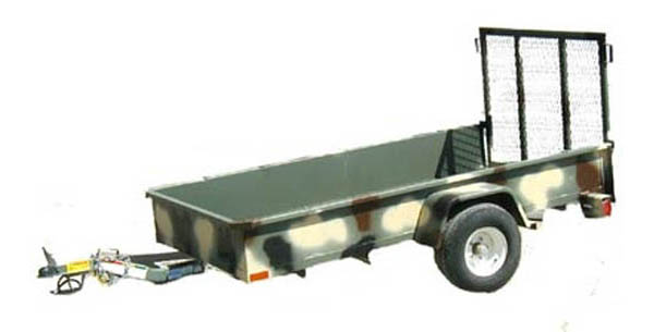 15AA Big Tex Single Axle Trailer