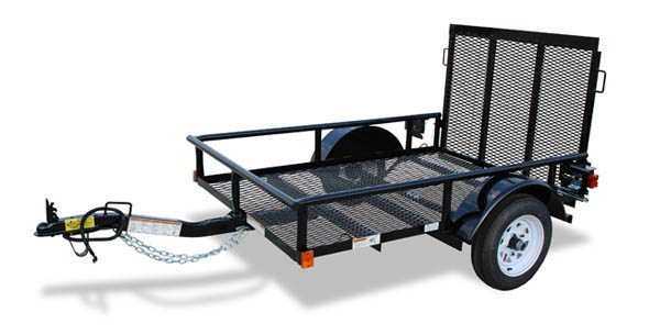 15XT Big Tex Single Axle Trailer