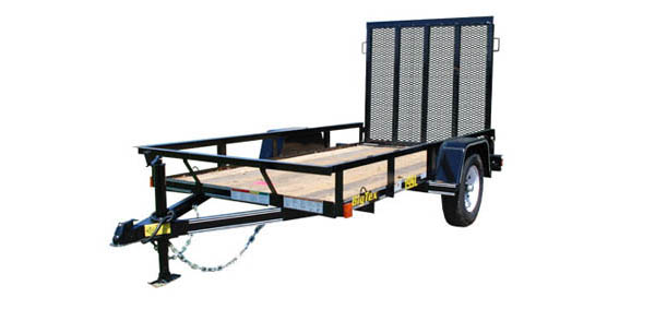 19SL Big Tex Single Axle Trailer