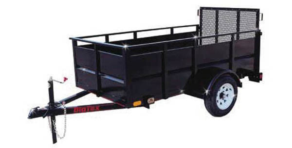 19SV Big Tex Single Axle Trailer