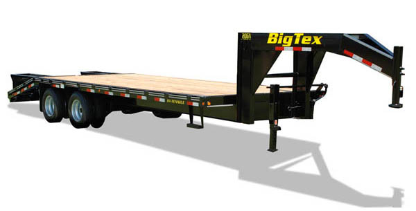 20GN Big Tex Gooseneck Trailer
