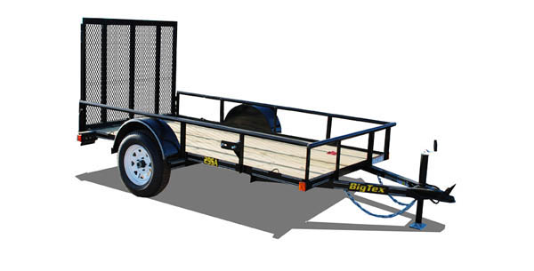 29SA Big Tex Single Axle Trailer