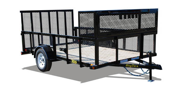 30LS Big Tex Landscape Trailer