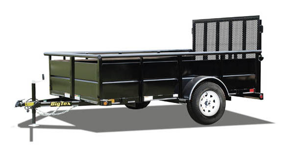 30SV Big Tex Single Axle Trailer