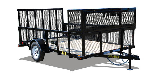35LS Big Tex Landscape Trailer