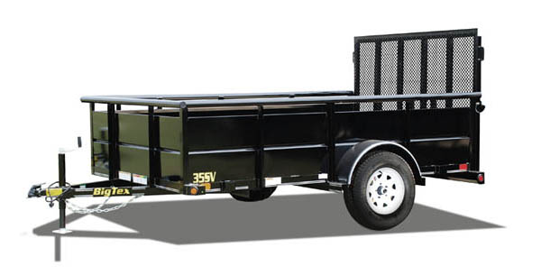 35SV Big Tex Landscape Trailer