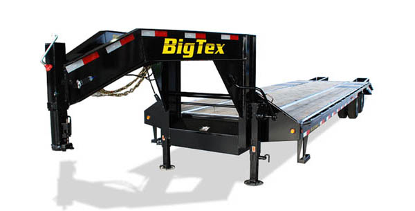3XGN Big Tex Gooseneck Trailer