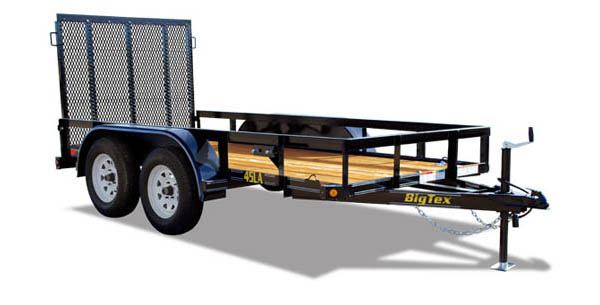 45LA Big Tex Tandem Axle Trailer