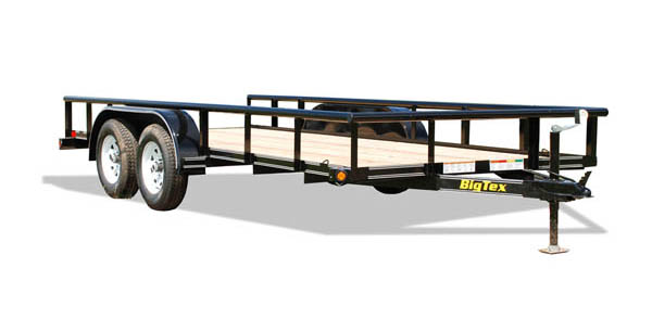 45SS Big Tex Tandem Axle Trailer
