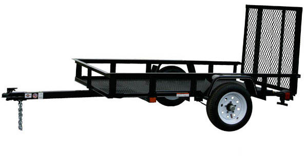4X6G Carry-On Utility Single Axle Trailer