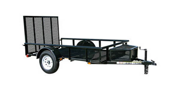 5.5X9GPR Carry-On Utility Single Axle Trailer