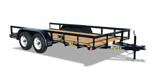 50LA Big Tex Tandem Axle Trailer