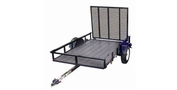 5X8GRD Carry-On Utility Single Axle Trailer