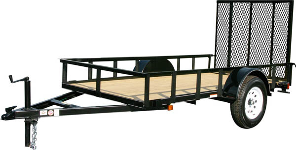 5X8GW Carry-On Utility Single Axle Trailer