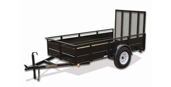 5X8SSG Carry-On Utility Single Axle Trailer
