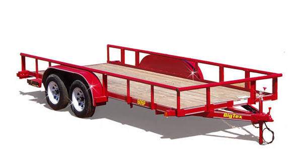 60SP Big Tex Tandem Axle Trailer
