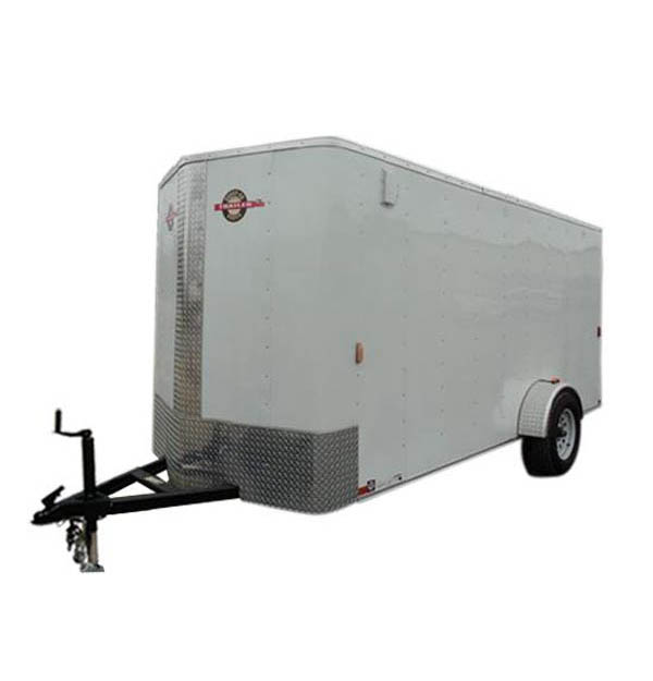 6X12CGBN Carry-On Cargo Single Axle Bullnose Trailer