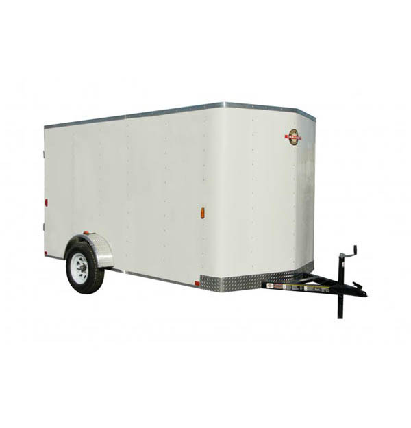 6X12CGECBN Carry-On Cargo Single Axle Bullnose Trailer