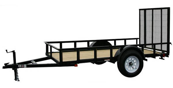 6X8GW13 Carry-On Utility Single Axle Trailer