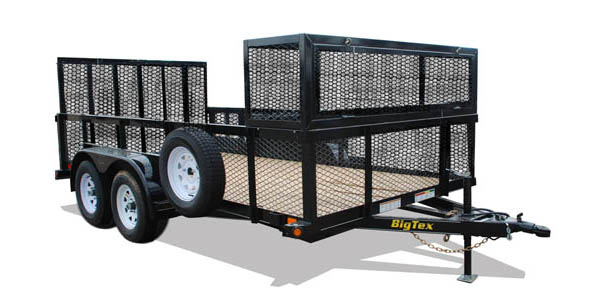 70LR Big Tex Landscape Trailer