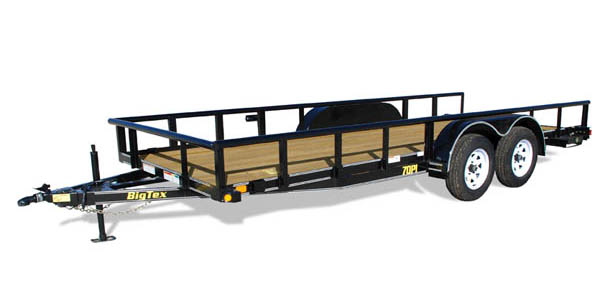 70PI-X Big Tex Tandem Axle Trailer
