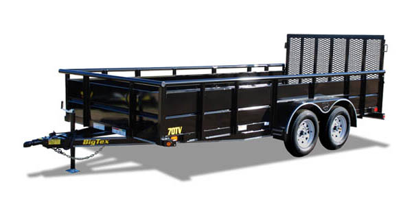 70TV Big Tex Tandem Axle Trailer