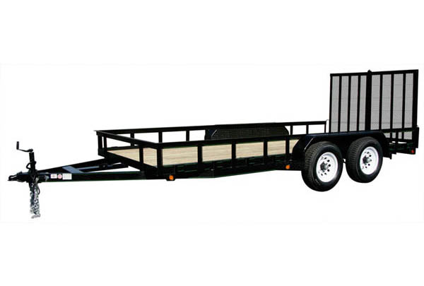 7X16HDLAND Carry-On All Purpose Equipment Trailer