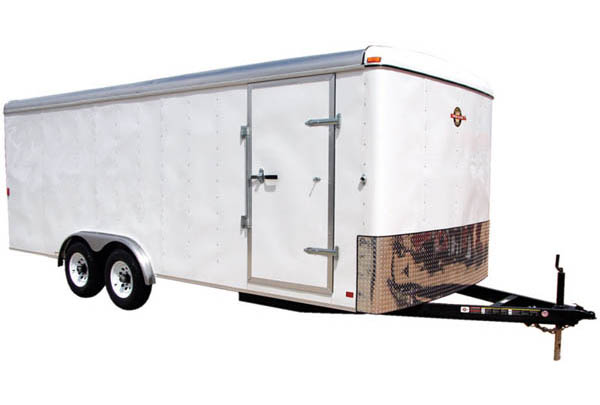 8.5X16CG Carry-On Cargo Double Axle Trailer