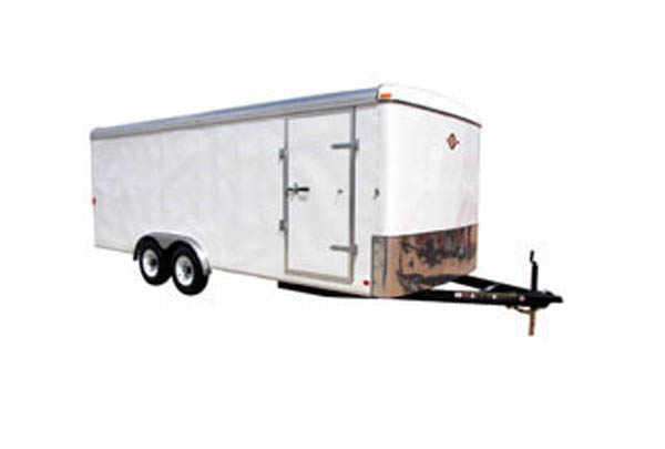 8X16CG Carry-On Cargo Double Axle Trailer